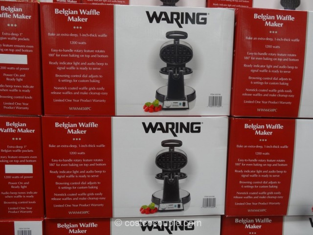 Waring Pro Belgian Waffle Maker Costco 2