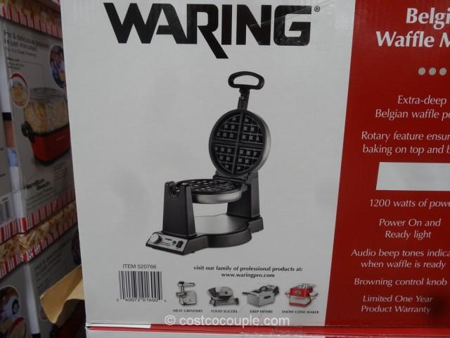 Waring Pro Belgian Waffle Maker Costco 4