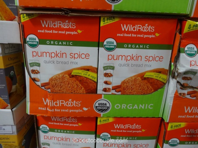 Wild Roots Organic Pumpkin Spice Bread Costco 2