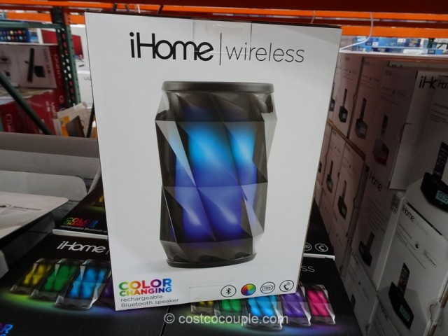 iHome Color Changing Bluetooth Speaker Costco 3