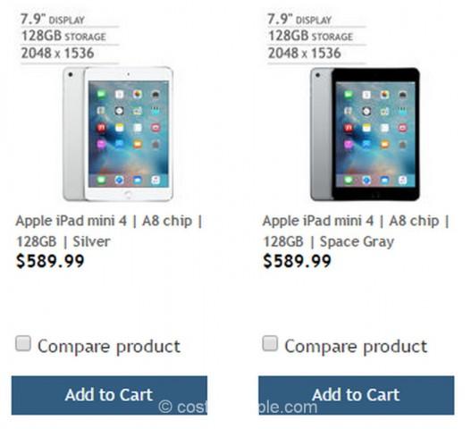 iPad Mini 4 Costco 1