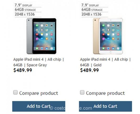iPad Mini 4 Costco 2