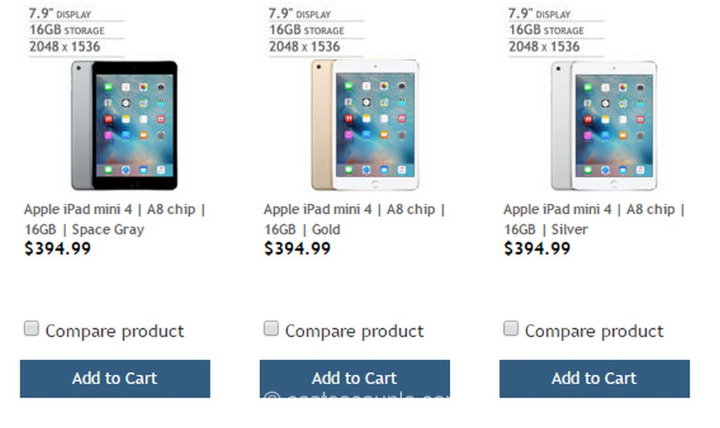 iPad Mini 4 Costco 3