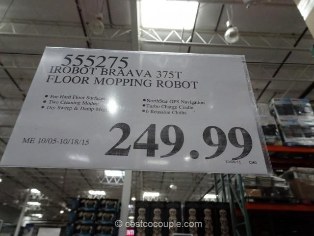 iRobot Braava 375t Floor Mopping Robot Costco 1