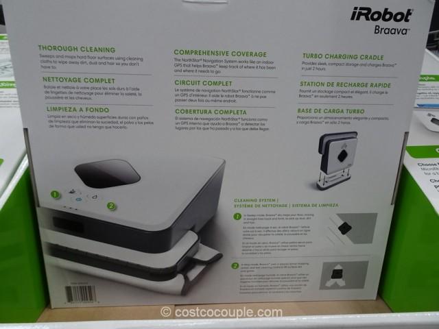 iRobot Braava 375t Floor Mopping Robot Costco 3