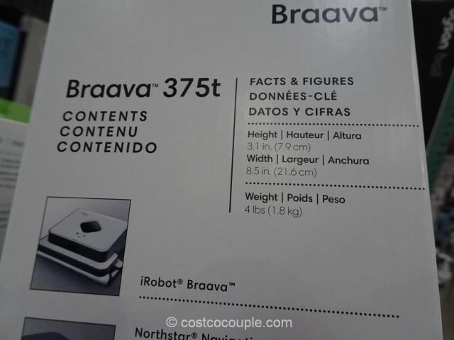 iRobot Braava 375t Floor Mopping Robot Costco 5