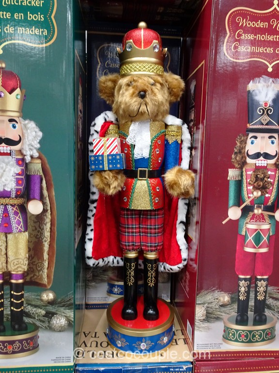 32-Inch Wooden Nutcracker Costco 2