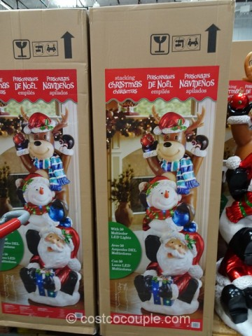 60 Inch Stacking Christmas Characters