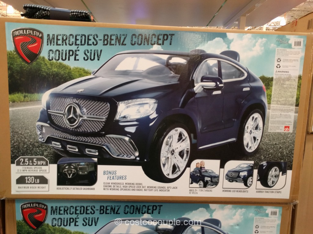 Aria Child Mercedes Coupe Ride-On Costco 2