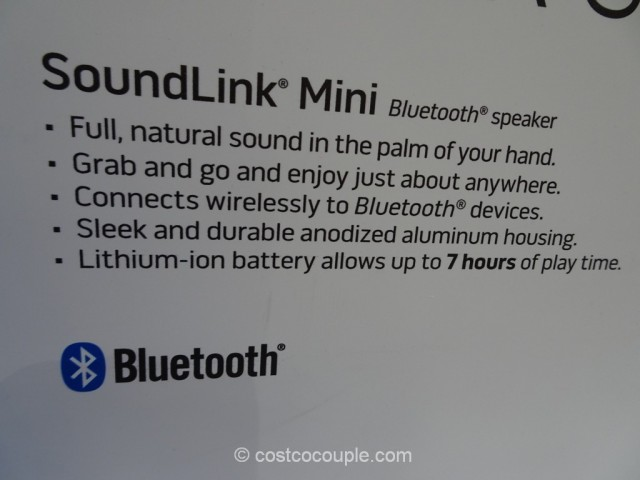 Bose Soundlink Mini Bluetooth Speaker Costco 4