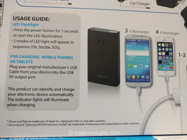 Car Jump Start and Portable Power Bank Costco 6