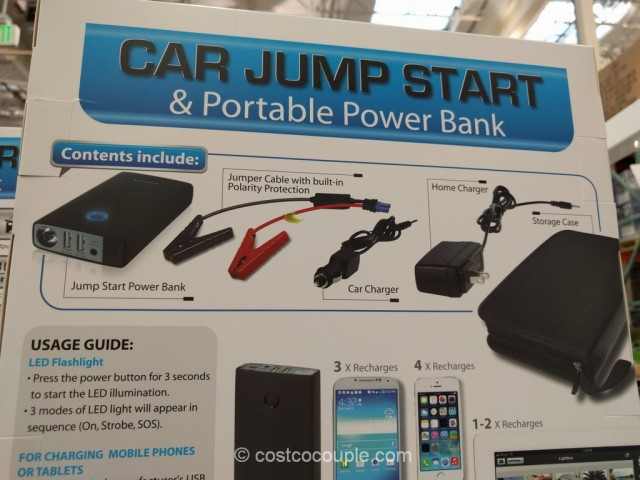 Car Jump Start and Portable Power Bank Costco 7