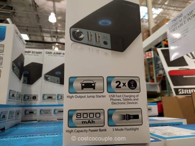 Car Jump Start and Portable Power Bank Costco 8