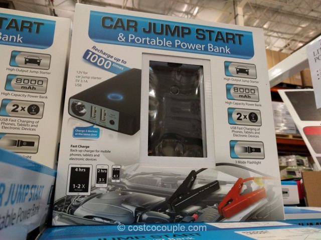 Car Jump Start and Portable Power Bank Costco 9