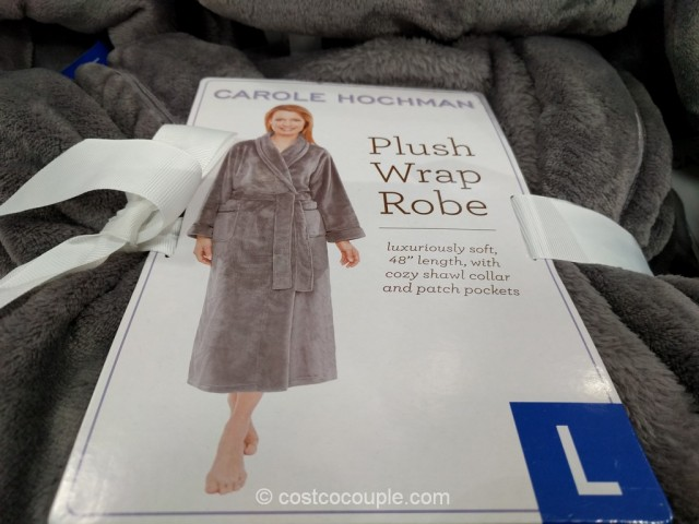 Carole Hochman Ladies Plush Wrap Robe Costco 1
