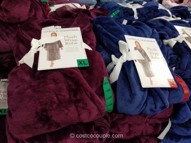 Carole Hochman Ladies Plush Wrap Robe Costco 2