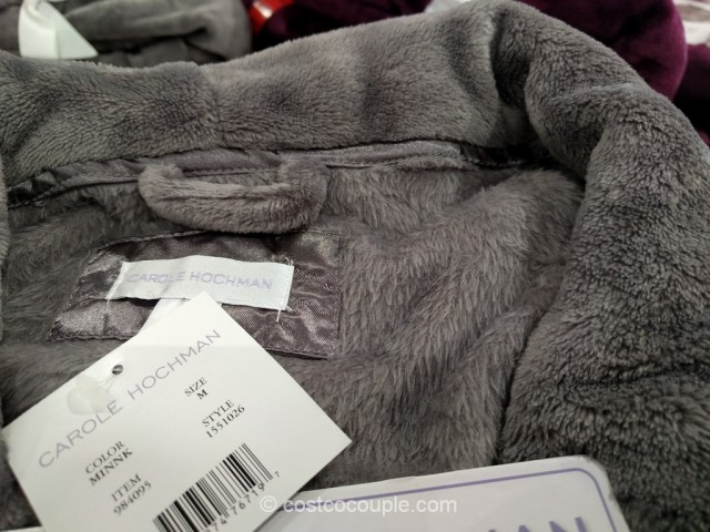 Carole Hochman Ladies Plush Wrap Robe Costco 4