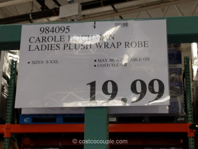 Carole Hochman Ladies Plush Wrap Robe Costco 6