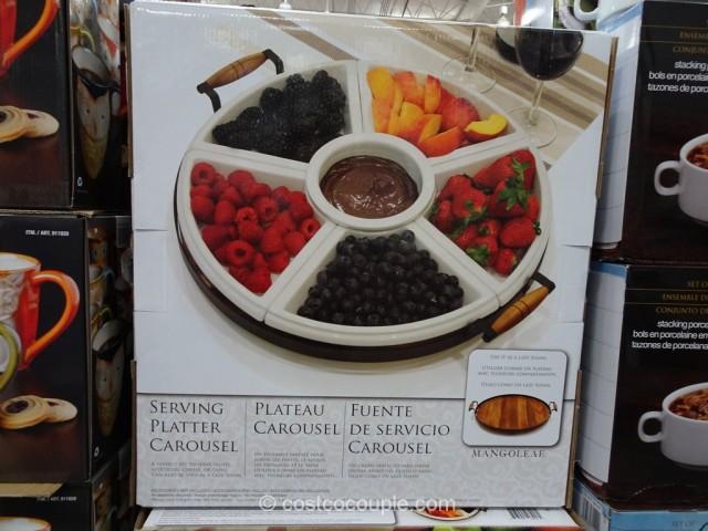 Ceramic Serving Platter Carousel Costco 2