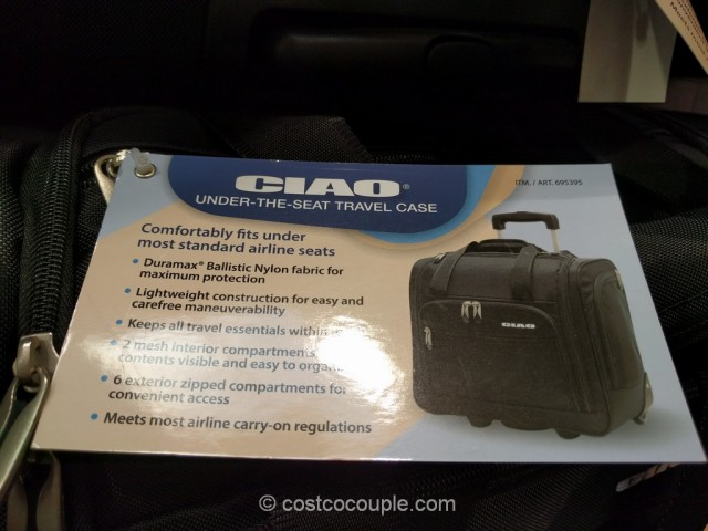 Ciao Under-The-Seat Travel Case Costco 4