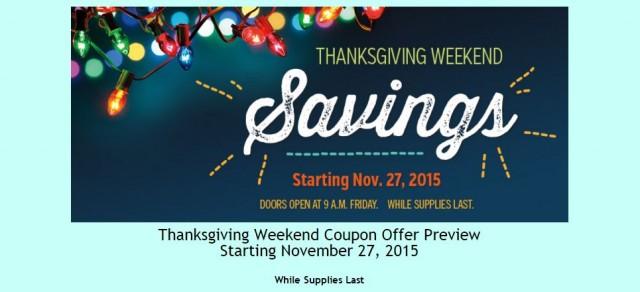 Costco 2015 Thanksgiving Weekend Savings 1