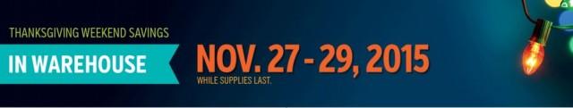 Costco 2015 Thanksgiving Weekend Savings 2