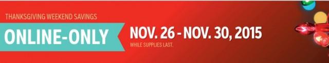 Costco 2015 Thanksgiving Weekend Savings 3
