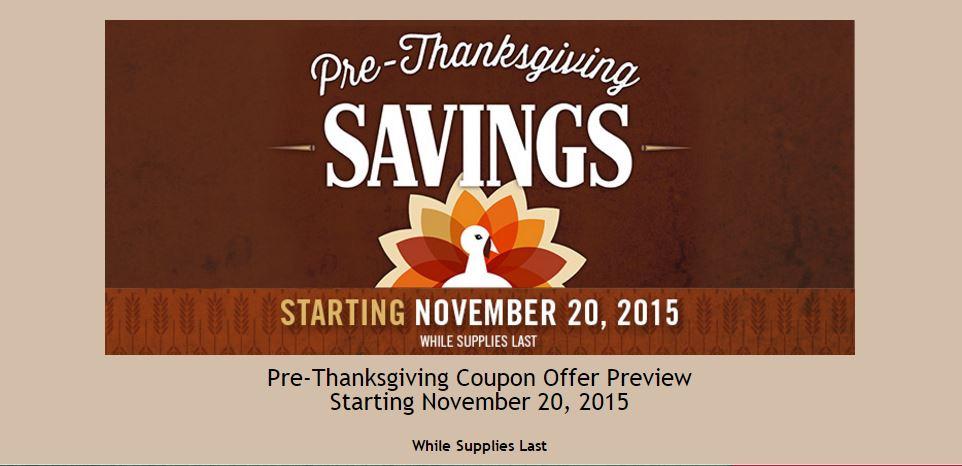 Costco Pre-Thanksgiving Savings 1
