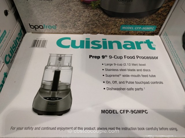 Cuisinart 9-Cup Food Processor Costco 4