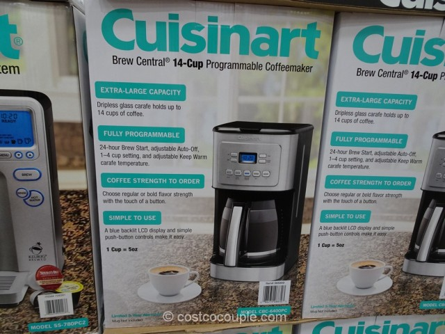 Cuisinart Brew Central 14 Cup Coffee Maker