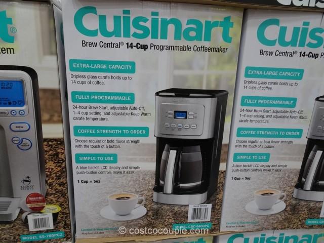 Cuisinart Brew Central 14-Cup Coffee Maker Costco 2
