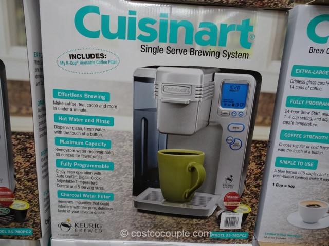 Cuisinart Single Serve Coffee Brewer Costco 6