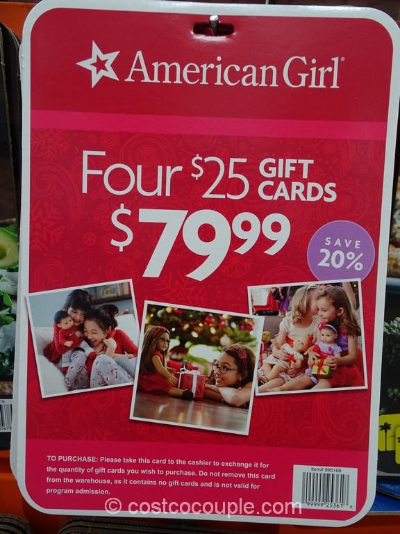 Gift Card American Girl Costco 1