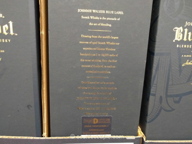 Johnny Walker Blue Label Scotch Costco 3