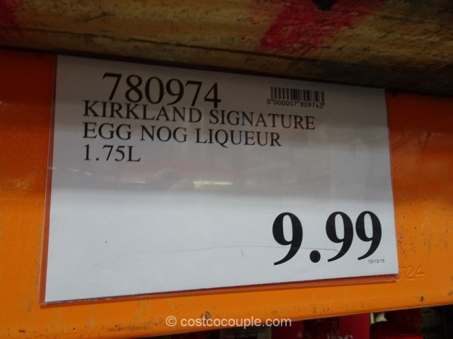 Kirkland Signature Egg Nog Liqueur Costco 1