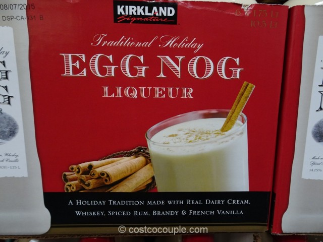 Kirkland Signature Egg Nog Liqueur Costco 2