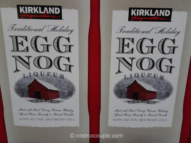 Kirkland Signature Egg Nog Liqueur Costco 3