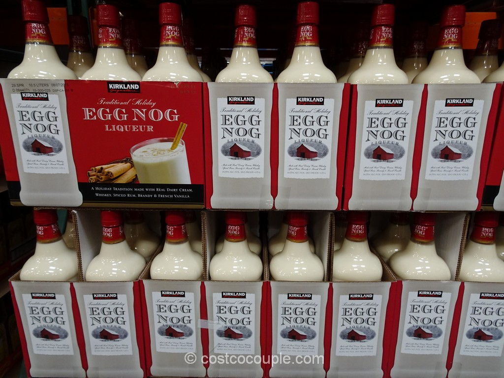 Kirkland Signature Egg Nog Liqueur Costco 4