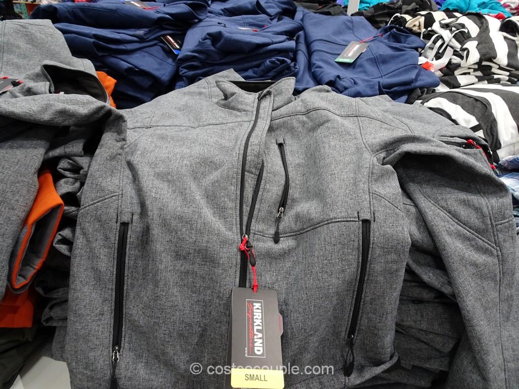 Kirkland Signature Mens Softshell Jacket Costco 4