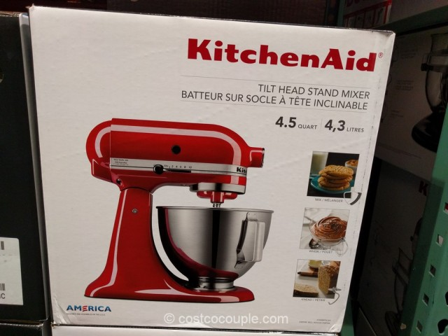 kitchenaid 4 5 quart tilt head stand mixer rh costcocouple com costco kitchenaid blender costco canada kitchenaid mixer