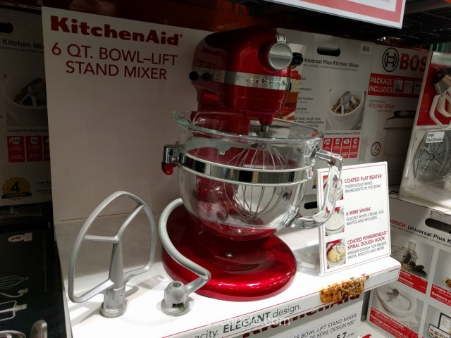 KitchenAid 6 Quart Bowl Lift Mixer Costco 2