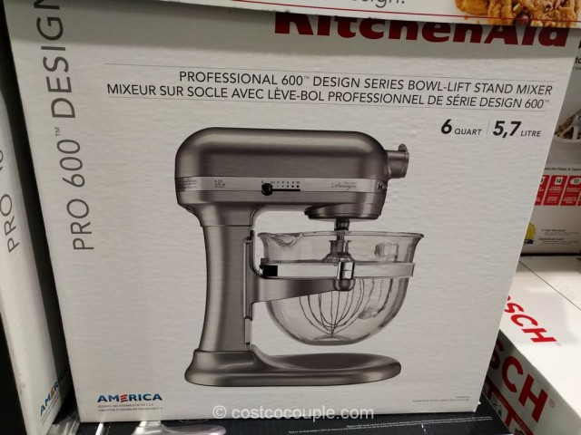 KitchenAid 6 Quart Bowl Lift Mixer Costco 4