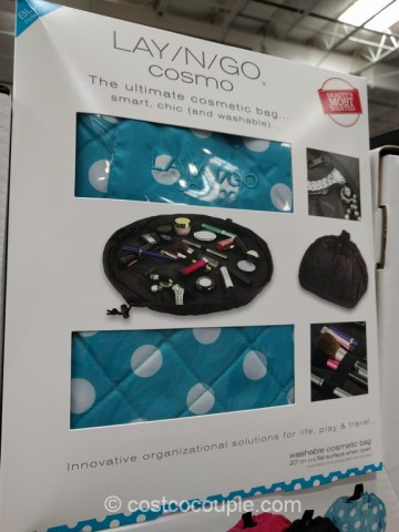 Lay-N-Go Cosmetic Bag Costco 2