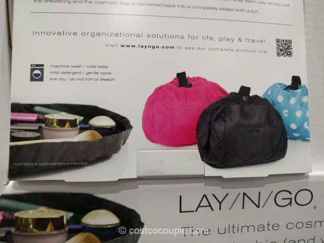 Lay-N-Go Cosmetic Bag Costco 4