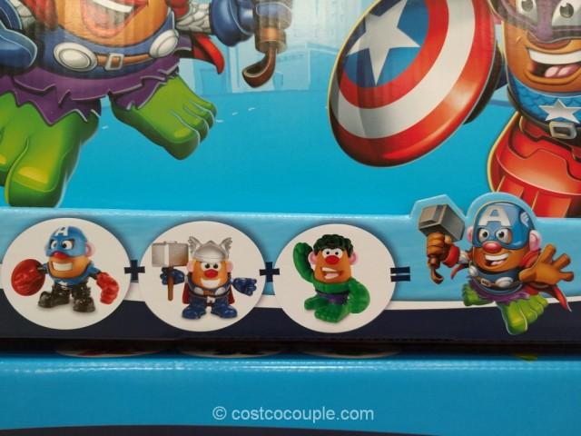 Mr Potato Head Mixable Mashable Heroes Costco 4