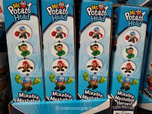 Mr Potato Head Mixable Mashable Heroes Costco 7