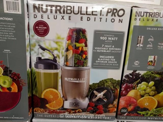 NutriBullet Pro Deluxe Edition Costco 2