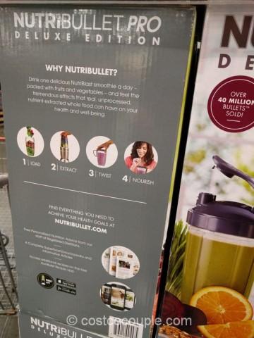NutriBullet Pro Deluxe Edition Costco 6