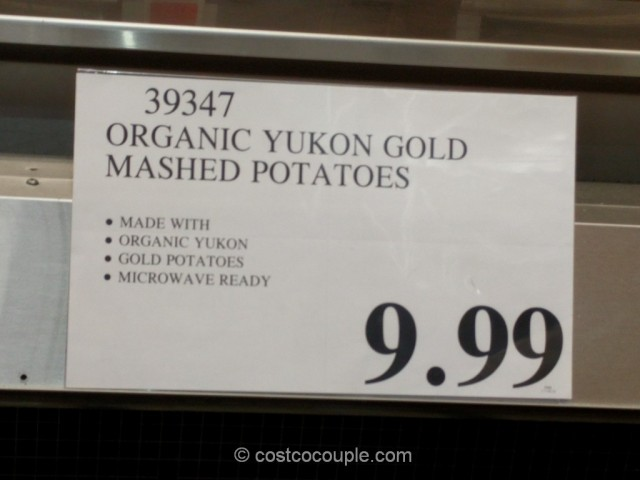 Organic Yukon Gold Mashed Potatoes Costco 1