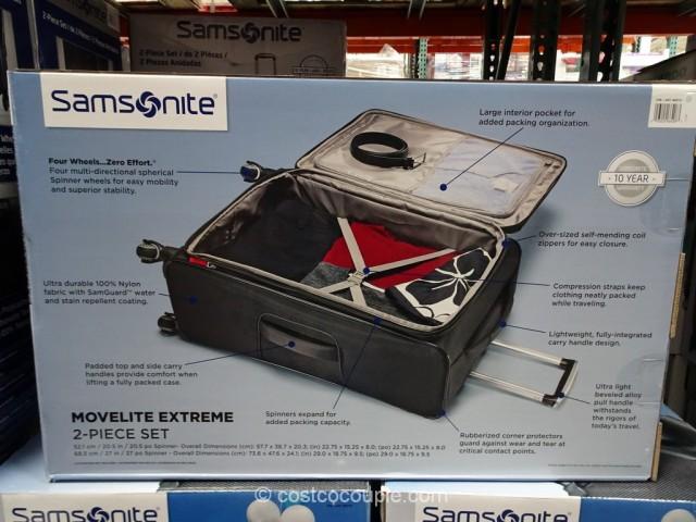 Samsonite Movelite Extreme 2-Piece Set Costco 4
